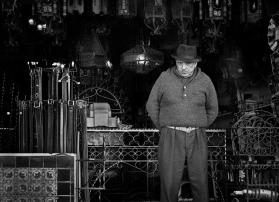 """Wrought Iron Shopkeeper"" Los Angeles, California 1972"