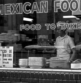 """Mexican Reflections"" Los Angeles, California 1972"