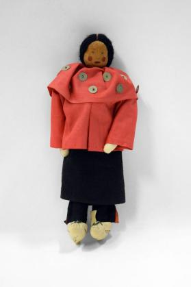 Doll Dressed in Regalia of a Delaware Woman