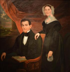 Portrait of Mr. Cockley and Wife