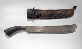 Bolo Knife and Sheath