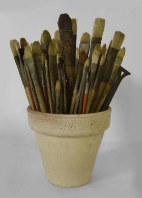 William Baziotes' Paint Brushes