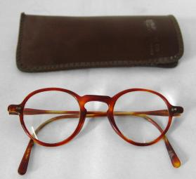 William Baziotes' Eye Glasses and Case